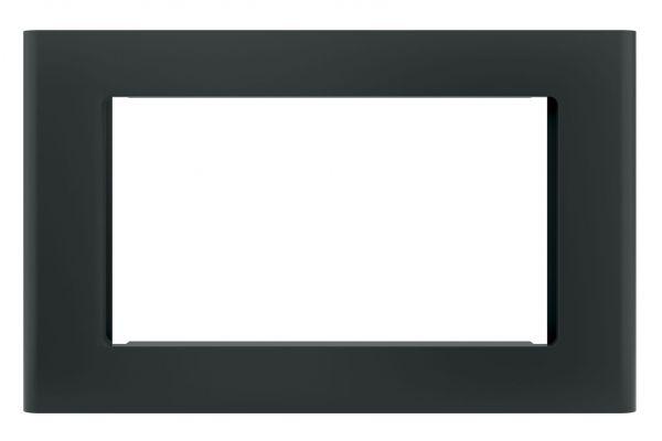 "Large image of GE Black 30"" Built-In Microwave Oven Trim Kit - JX9153DJBB"