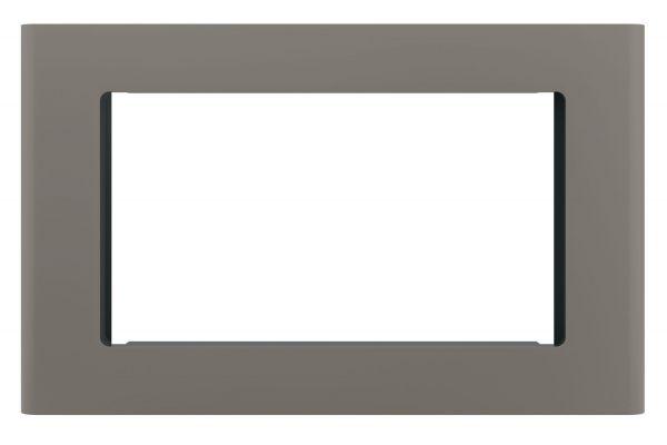 "Large image of GE Slate 30"" Built-In Microwave Oven Trim Kit - JX9153EJES"