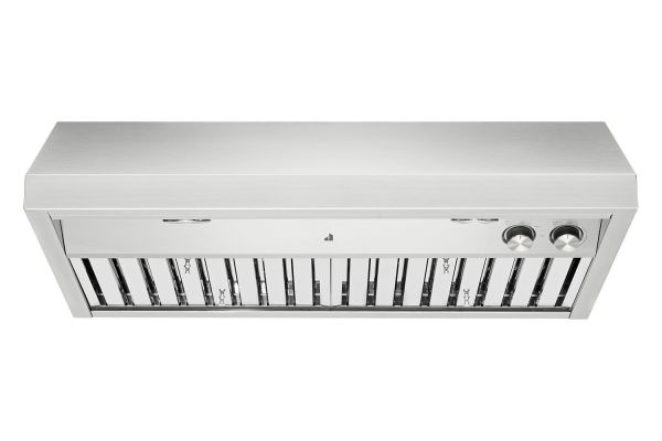 """Large image of JennAir Pro-Style 36"""" Stainless Steel Professional Low Profile Under Cabinet Hood - JXU9136HP"""