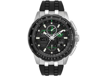 Citizen Eco-Drive Black Skyhawk A-T Mens Watch - JY8051-08E