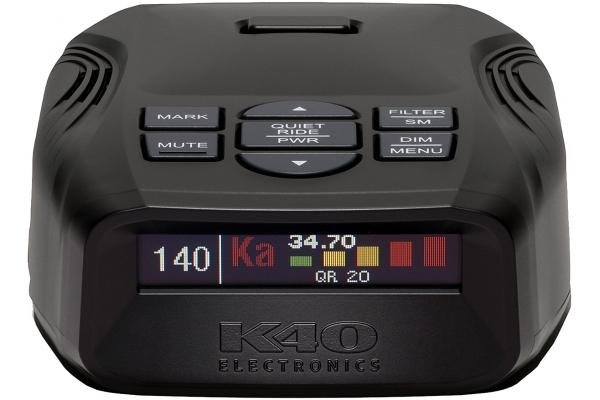 Large image of K40 Platinum100 Portable Radar And Laser Detector With Remote - K40-100RC