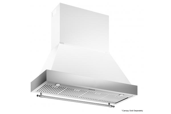 "Large image of Bertazzoni Heritage Series 48"" Stainless Steel Hood - K48HERTX"
