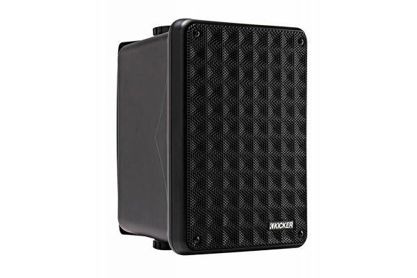 Kicker KB6 Outdoor/Indoor Black Speakers (Pair) - 46KB6B