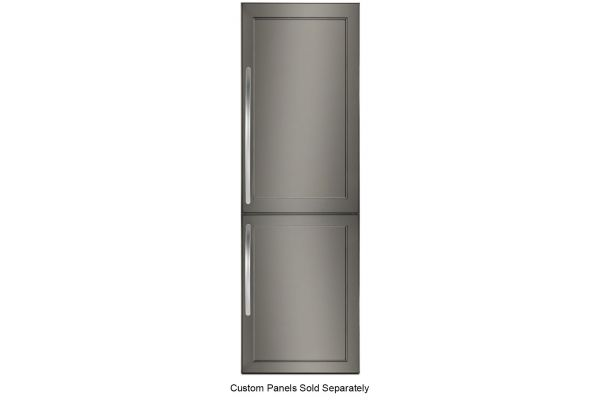 Large image of KitchenAid 10 Cu. Ft. Panel Ready Built-In Bottom Mount Refrigerator - KBBX104EPA