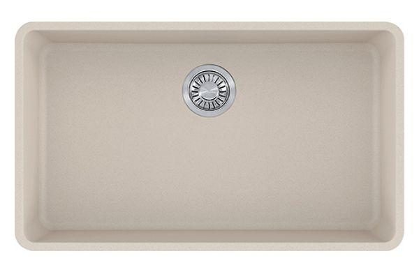 Large image of Franke Fragranite Coffee Kubus Undermount Kitchen Sink - KBG11031CHA