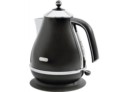 DeLonghi Black Icona Water Kettle - KBO1401BK
