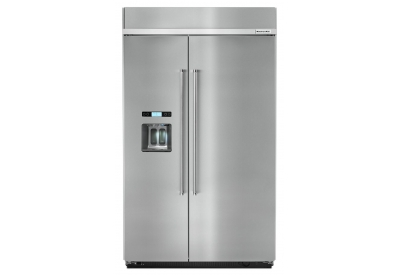 KitchenAid - KBSD618ESS - Built-In Side-by-Side Refrigerators