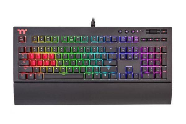 Thermaltake Premium X1 RGB Cherry MX Blue Keyboard - KB-TPX-BLBRUS-01