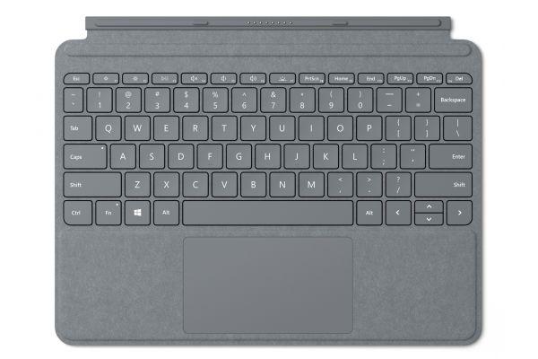 Large image of Microsoft Surface Go Platinum Signature Type Cover - KCS-00001