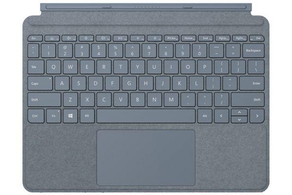 Large image of Microsoft Surface Go Ice Blue Type Cover - KCS-00105