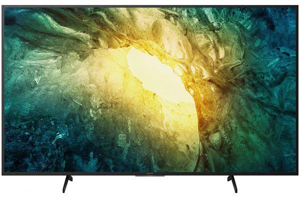 "Large image of Sony 65"" X750H Black 4K HDR LED Smart HDTV - KD65X750H"