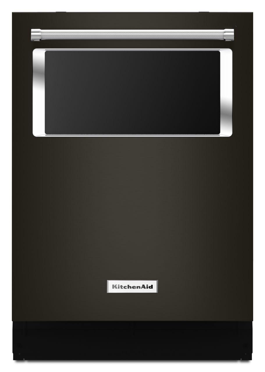 Kitchenaid 24 Quot Black Stainless Dishwasher Kdtm804ebs