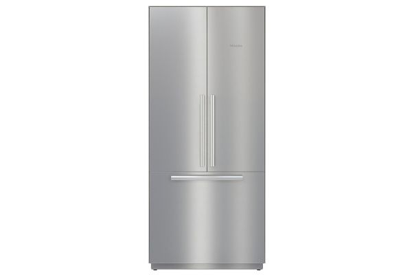 "Miele 36"" MasterCool Stainless Steel Built-In French Door Bottom Mount Refrigerator - 10745950"