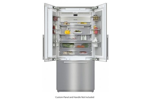 """Miele 36"""" MasterCool Built-In Panel Ready French Door Bottom Mount Refrigerator - 10745930"""