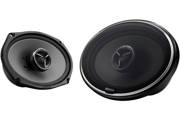 """Large image of Kenwood eXcelon 6 """"x 9"""" 2-Way 2 Speakers (Pair) - KFCX694"""