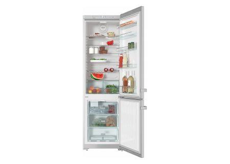 """Miele 24"""" Counter Depth Bottom Freezer Refrigerator - KFN13923DE"""