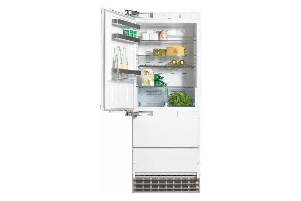"Large image of Miele PerfectCool 30"" Panel Ready Left-Hinge Built-In Fridge-Freezer - 09623660"