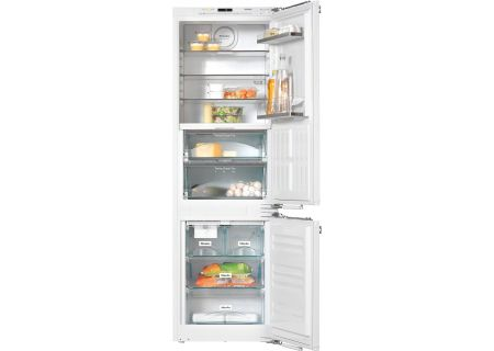 Miele PerfectCool Panel Ready Built-In Bottom Freezer Refrigerator - KFNS 37692 IDE-1
