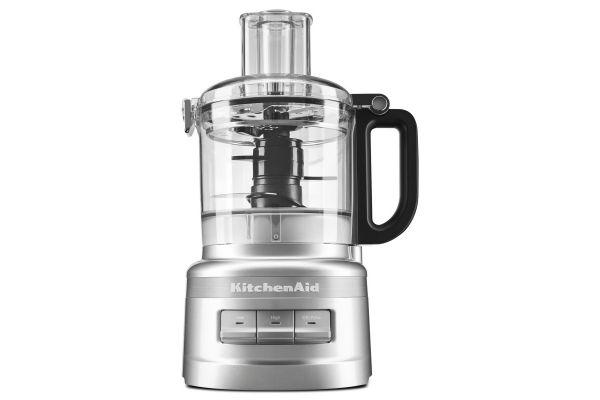 KitchenAid 7-Cup Contour Silver Food Processor Plus - KFP0719CU