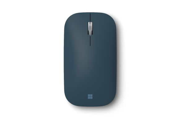 Large image of Microsoft Cobalt Blue Surface Mobile Mouse - KGY-00021
