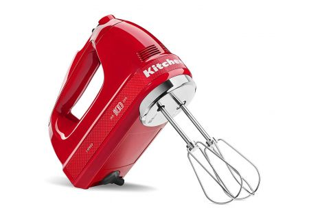 KitchenAid 100 Year Limited Edition Queen of Hearts Passion Red 7-Speed Hand Mixer - KHM7210QHSD
