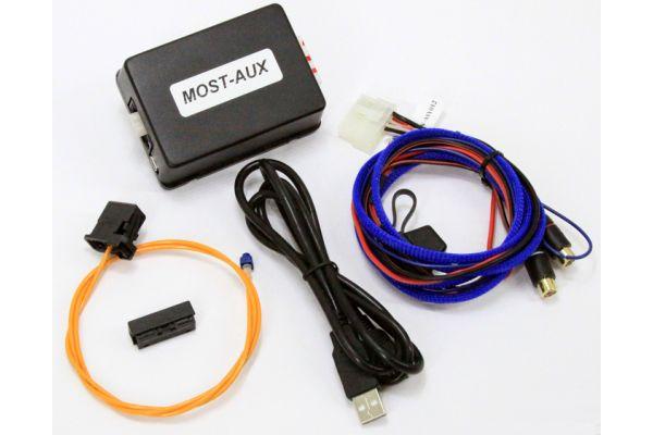 NAV-TV MOST-AUX Auxiliary Audio Input For Aston Martin - NTV-KIT143