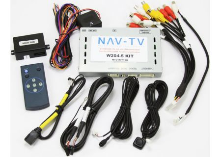 NAV-TV W204-5 Backup Camera Kit - NTV-KIT198