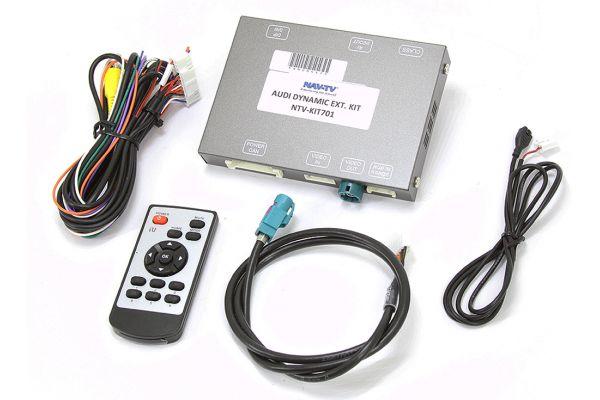 Large image of NAV-TV AUDI-Dynamic EXT Kit Interfaces - NTV-KIT701
