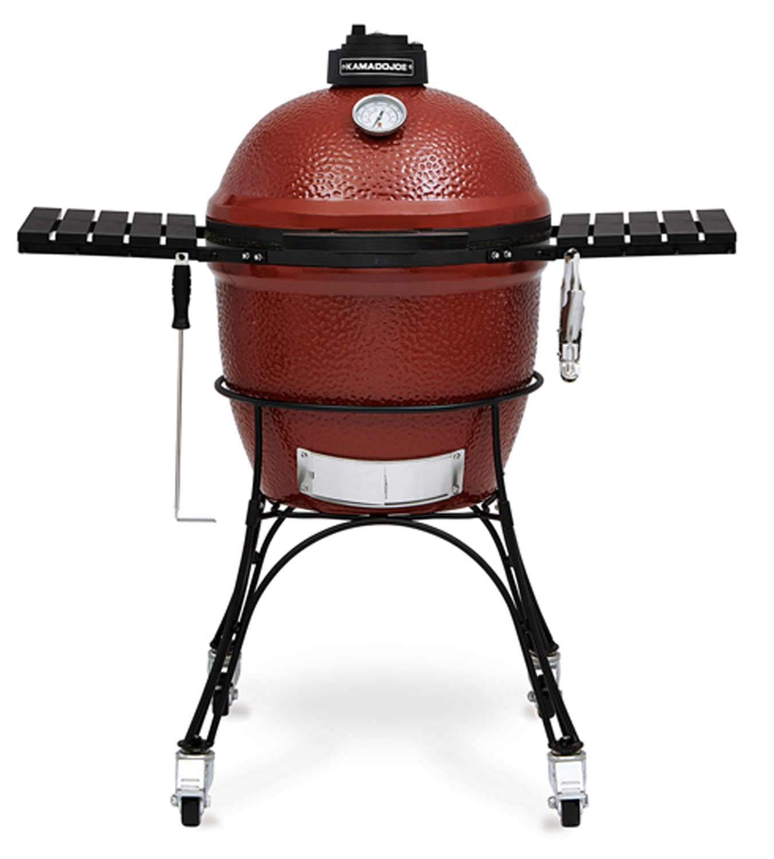 "Kamado Joe Outdoor Kitchen: Kamado Joe Red Classic 18"" Ceramic Grill"