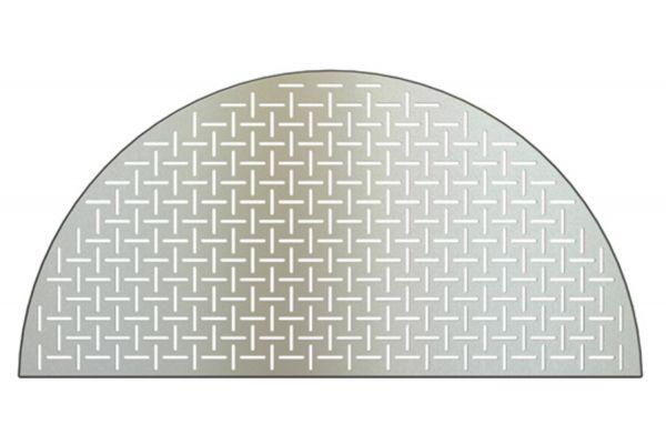 Large image of Kamado Joe Big Joe Half Moon Laser Cut Stainless Steel Cooking Grate - BJ-HSSCGFV