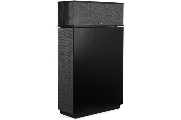 Large image of Klipsch Heritage Series Klipschorn AK6 Satin Black Ash Floorstanding Speaker (Each) - 1066444