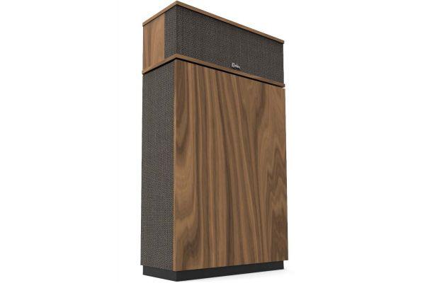 Large image of Klipsch Heritage Series Klipschorn AK6 American Walnut Floorstanding Speaker (Each) - 1066445