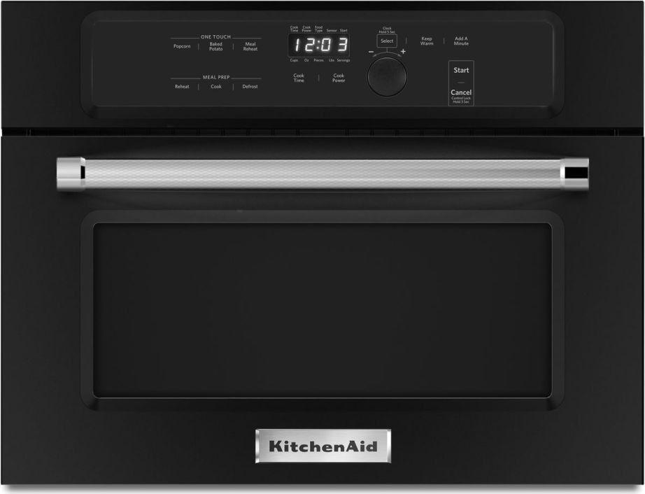 Kitchenaid Kmbs104ebl Built In Drop Down Microwaves