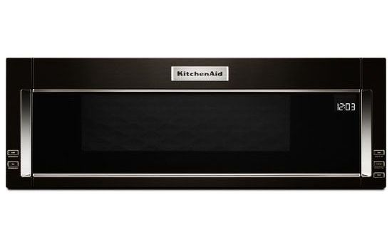 kitchenaid black over the range microwave kmls311hbl. Black Bedroom Furniture Sets. Home Design Ideas