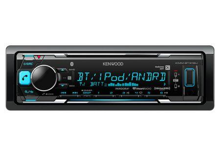 Kenwood - KMM-BT318U - Car Stereos - Single DIN
