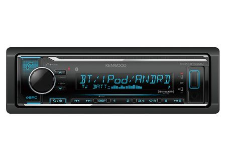 Kenwood - KMM-BT322U - Car Stereos - Single DIN