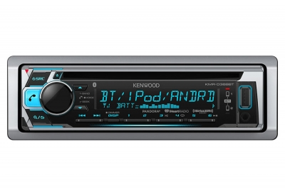 Kenwood - KMR-D368BT - Marine Radio