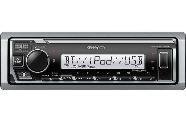 Large image of Kenwood Marine/Motorsports Digital Media Receiver w/ Bluetooth - KMR-M328BT