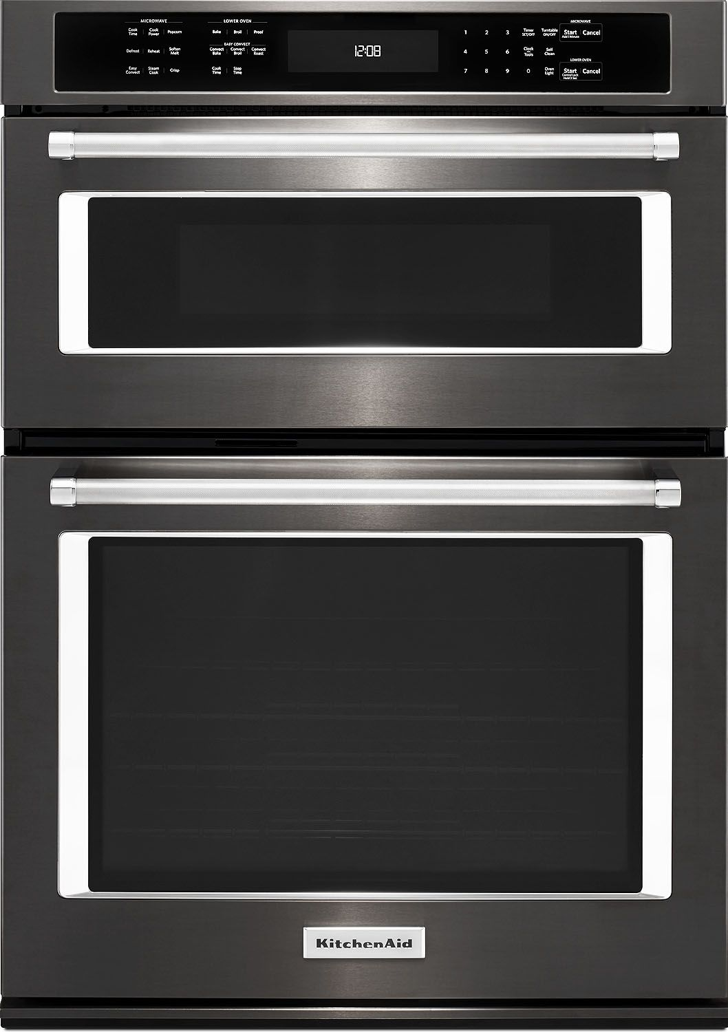 Kitchenaid 27 Quot Black Stainless Wall Oven Koce507ebs