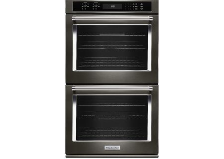 KitchenAid - KODE507EBS - Double Wall Ovens