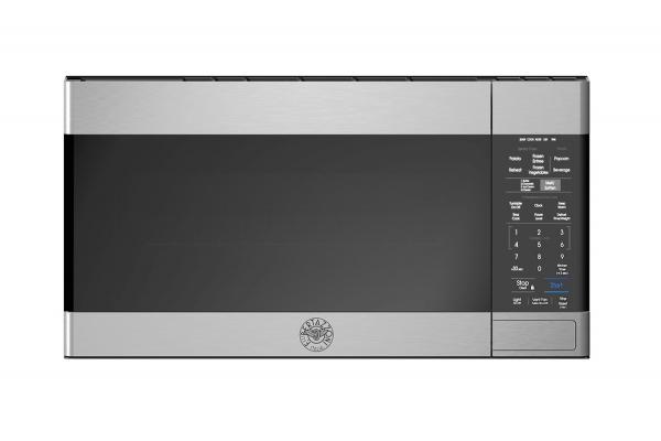 "Large image of Bertazzoni 30"" Stainless Steel Over The Range Microwave - KOTR30MXE"
