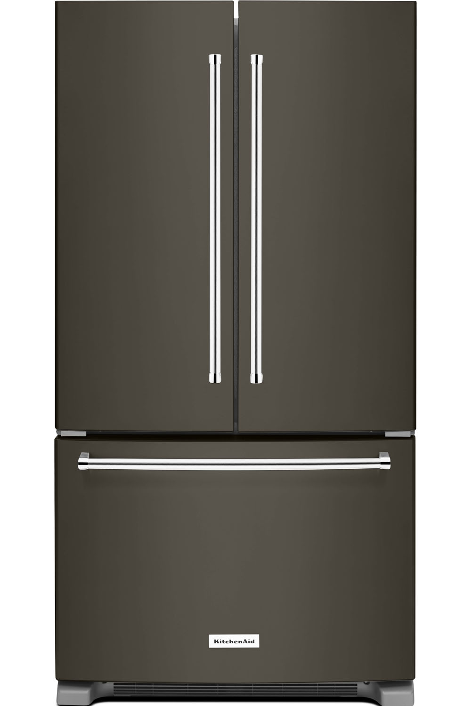 Kitchenaid Refrigerator White kitchenaid black stainless refrigerator - krfc300ebs