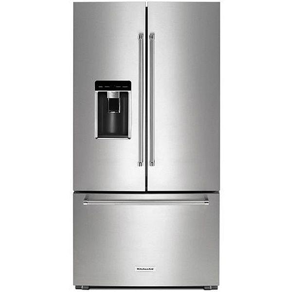 KitchenAid Stainless Steel Counter Depth French Door Refrigerator