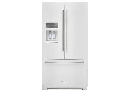 KitchenAid - KRFF507EWH - French Door Refrigerators