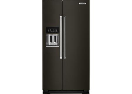 KitchenAid - KRSC503EBS - Side-by-Side Refrigerators