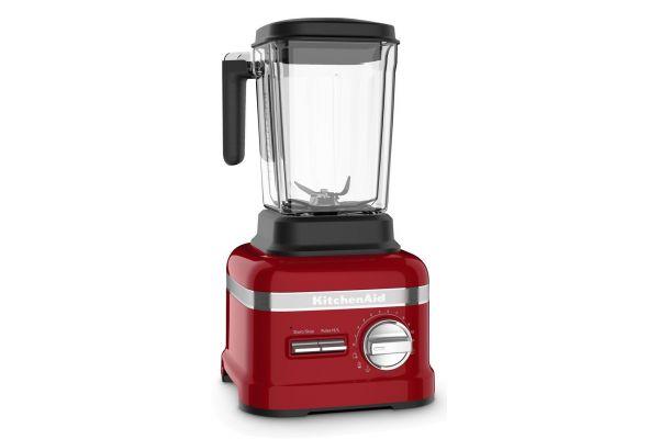Large image of KitchenAid Pro Line Series Candy Apple Red Blender - KSB8270CA