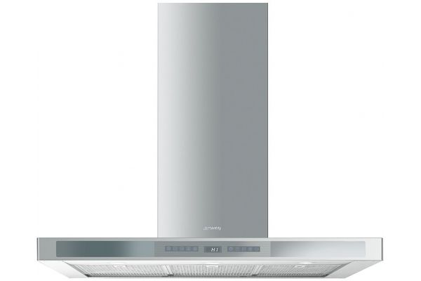 "Large image of Smeg 36"" Wall Mounted Stainless Steel Ventilation Hood - KSEU912X"