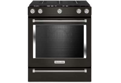 KitchenAid - KSGG700EBS - Slide-In Gas Ranges