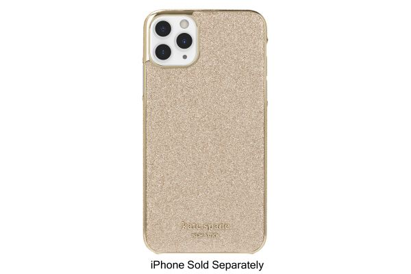 Incipio Kate Spade New York Gold Munera Gold PC Wrap Case For iPhone 11 Pro Max - KSIPH-141-GLDMN