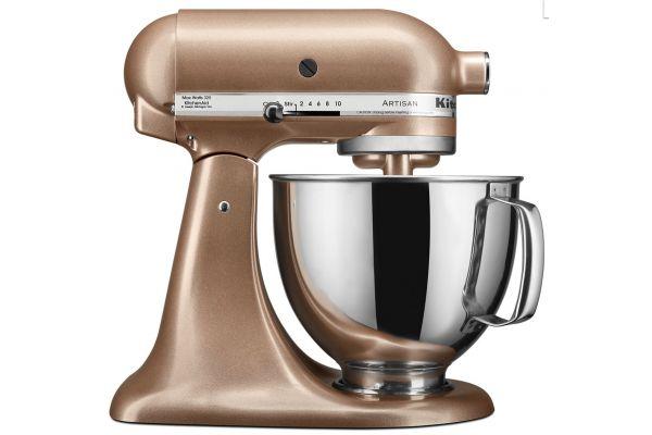 Large image of KitchenAid Artisan Series Toffee Delight Stand Mixer - KSM150PSTZ